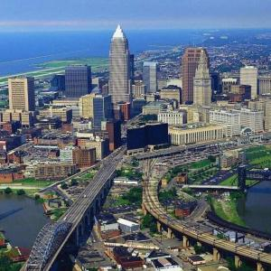Cleveland, vibrant and interesting.